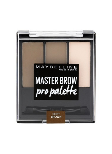 New York Master Brow Pro Palette 03 Soft Brown -Maybelline